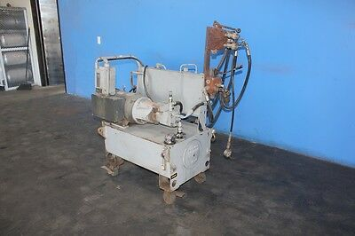 10 HP x 10 Gallon Hydra Portable Hydraulic Power Unit  with Quick Disconnects