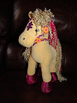 Groovy Girls Brown Horse w/ Bendable Poseable Legs Plush Doll