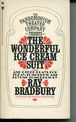 Ray Bradbury Sci-Fi Author The Wonderful Ice Cream Suit Signed Autograph Book