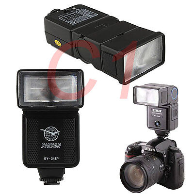YINYAN BY-24ZP Flash Speedlight for Canon Nikon  Panasonic Fujifilm DSLR