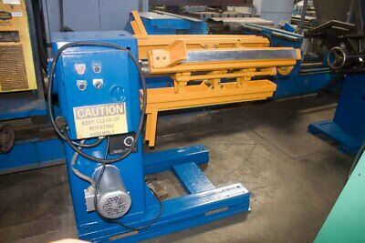 """5,000 LB x 36"""" Wide Cooper Weymouth Powered Coil Reel Uncoiler Press Stamping"""