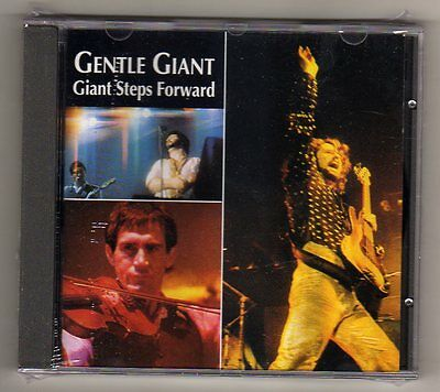 GENTLE GIANT - GIANT STEPS FORWARD - CD LIVE  NO CDr - SIGILLATO MINT EU