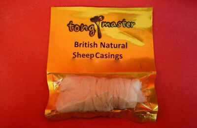 Natural SHEEP Sausage Casings/Skins - 24/26mm - 5m