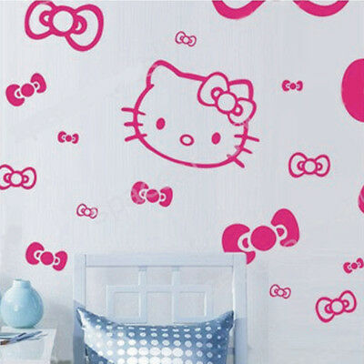 Wandaufkleber Wandtattoo Wandsticker Wallsticker Kinderzimmer Hello Kitty KT029