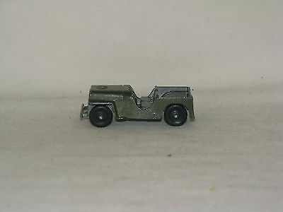 Antique/vintage Diecast Tootsietoy Jeeps, Mint Condition, 50S-60S, Old Toy Cars