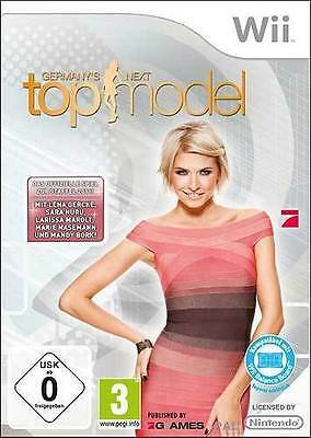 Nintendo Wii Spiel ***** Germany's Next Topmodel 2011 Germanys **********NEU*NEW