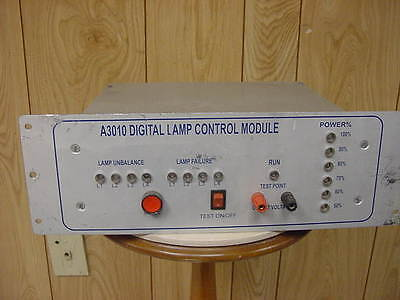 Gasonics Plasma Asher A-3010 Digital Lamp Control Module