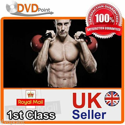 Learn Kettlebell Workout Training Fitness Guide 2 X Dvd Set With Free Postage