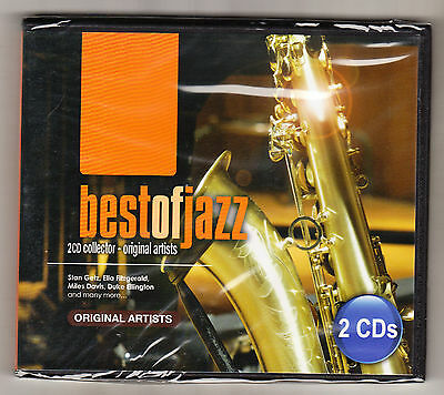 Best Of Jazz - Collector's Edition - 27 Tracks - 2 Cd Set - New & Sealed