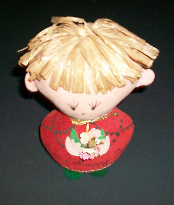 Vintage Dolly-Gram by Western Union Have a Happy Day Plush Doll 6""