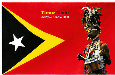 "2002 Timor-Leste Independencia Post Office Pack ""RARE"""
