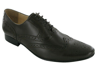 Mens  Lace Up 100% Leather Formal Shoes Uk/eu Sizes ** 6 7 8 9 10 11**