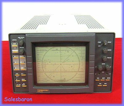 Videotek TVM-675 Component/Composite Waveform Monitor Vector Scope Audio TVM675