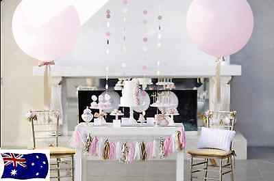 Giant Large Round Balloons 3 Ft / 90Cm Qualatex Latex Wedding Helium Or Air