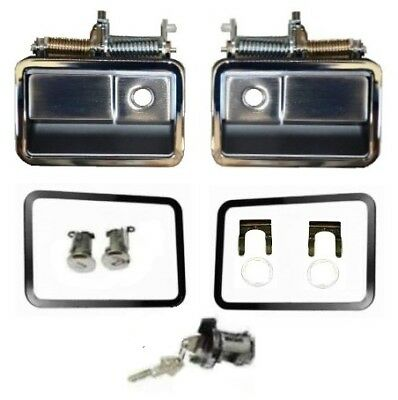 Outside Door Handle and Lock Set for 1970-1971 MoPar E-Body