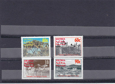 stamps ERITREA 1995 SC 244-247 TO THE BRIGHT FUTURE MNH SET ER#4 LOOK