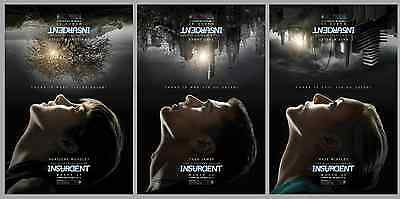 INSURGENT Divergent 2015 Original DS 2 Sided 27x40 Movie Posters Set B Of 3