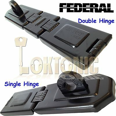 Federal High Security Garage Shed Van Hasp And Staple Fd1075 1085