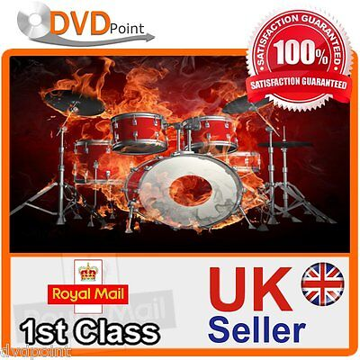 Step By Step Guide Learn How To Play Drums Beginners Dvd With Free Postage
