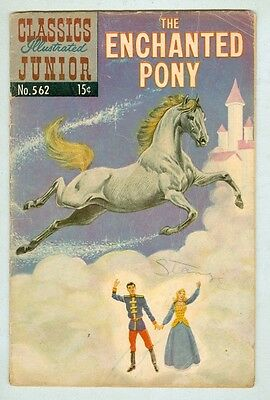 Classics Illustrated Jr #562 October 1959 G/VG The Enchanted Pony