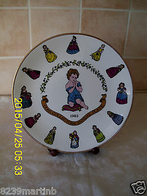 Goss Limited Edition Collectors Annual Plate 1983 No293