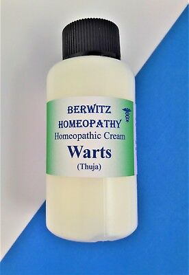 HOMEOPATHIC THUJA CREAM. HELPS REMOVE WARTS & VERRUCA  for Adults & Children.50g
