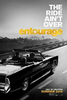 "ENTOURAGE 2015 Advance Teaser DS 2 Sided 27x40"" Movie Poster Mark Wahlberg A Eve"