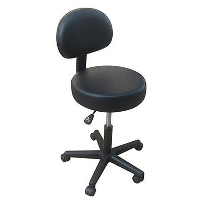 Pneumatic Rolling Massage/Medical stool Office Chair with Back Rest