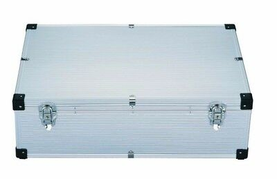 1 Neo Aluminium 420 CD DVD DJ Flight case with numbered sleeves - Recorded Post