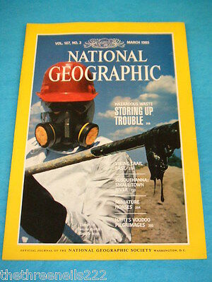 National Geographic - Miniature Horses - March 1985