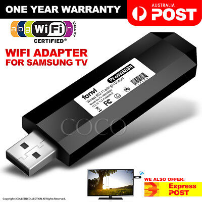 Wireless TV WIFI Adapter USB Dongle For Samsung TV WIS12ABGNX WIS09ABGN