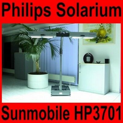 Solarium Philips Sunmobile HP 3701 Homesun Sonnenbank TOP ZUSTAND