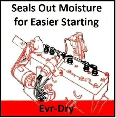 Evr-Dry Spark Plug Wires for 1936-1954 Plymouth