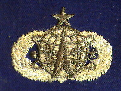 """Patch USAF Senior Space Operation/ Missle Rank & Insignia  3"""" x 3"""""""