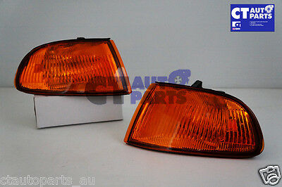 92~95 HONDA CIVIC EG JDM AMBER  CORNER Indicator Lights 4 Door