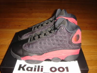 new product 64049 855bc NIKE AIR JORDAN 13 Retro (GS) Bred Playoff Pink Lemonade Black Red Grape A