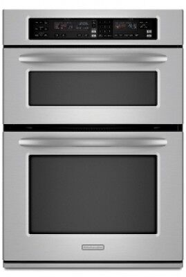Kitchenaid Wall Oven Light Bulb : KitchenAid Superba Selectra Self-Clean Thermal Convection Double Oven 27