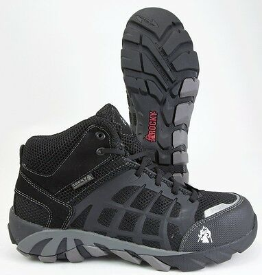 ROCKY TRAILBLADE BLACK HI COMPOSITE TOE WATERPROOF WORK BOOTS - ALL SIZES