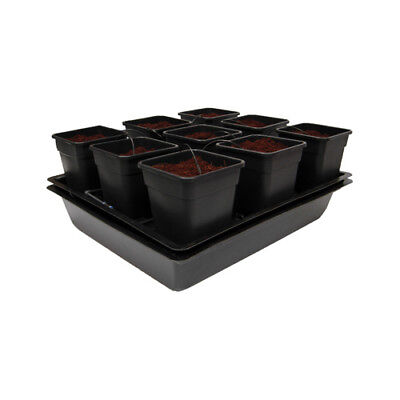 Nutriculture WILMA System - Hydrokultur Aeroponic 9 Pflanzen Homegrow Anzucht