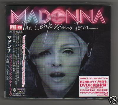 MADONNA- Confessions Tour - CD + DVD - JAPAN SIGILLATO  sealed mint