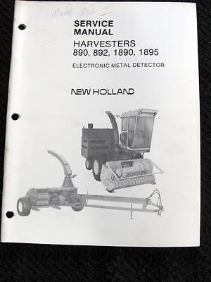 New Holland 1890 1895 Forage Harvester Dealer/'s Parts Book DCPA6