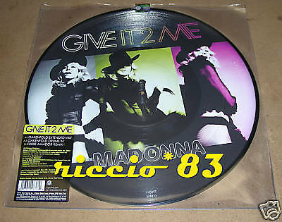 "Madonna Give It 2 Me 12"" MIX VINILE PICTURE DISC UK"