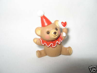 "Hallmark Merry Miniature ""clown Teddy"" 1986"