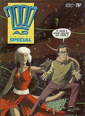 2000 AD Special 1988: new work by Dillon, McNeil, Kennedy, Simpson...