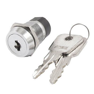Electric 2 Positions ON OFF Key Locking Switch 4A/125V 2A/250V AC