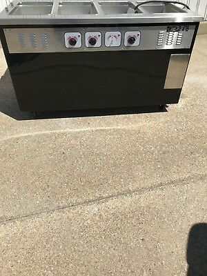 Piper Electric Hot Food Serving Counter (4 Well)