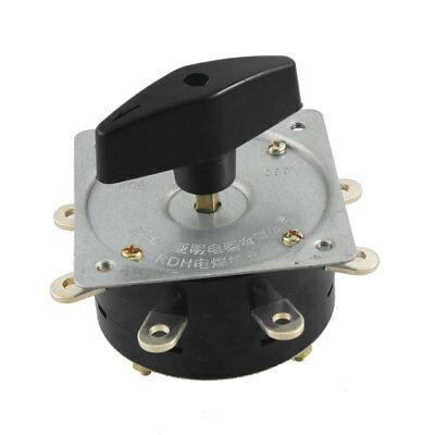 AC 40A 380V 8 Positions Rotary Cam Changeover Switch for Electric Welder