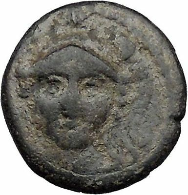 Antiochus I Soter Seleucid Kingdom 280BC Ancient Greek Coin Athena Nike i31471