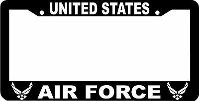UNITED STATES AIR FORCE US U.S. AIR FORCE  License Plate Frame