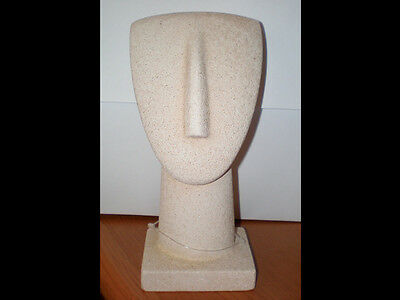 Cycladic Art Idol With Base - Ancient Greek Art - Modern Style • CAD $47.63